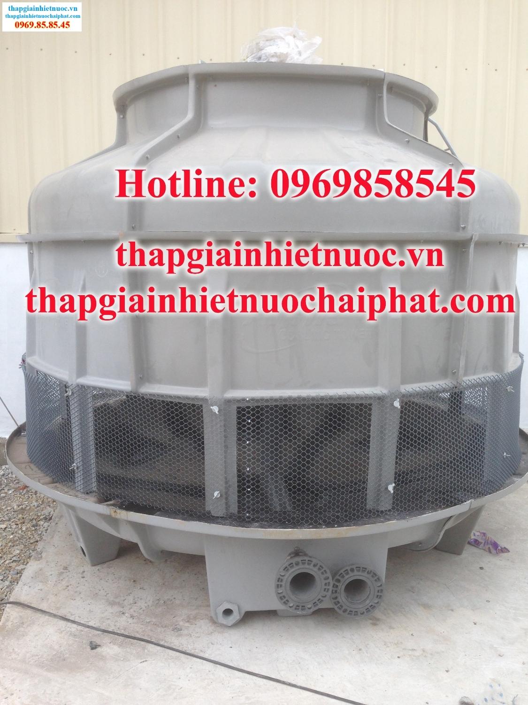 Lắp đặt tháp giải nhiệt nước - cooling tower