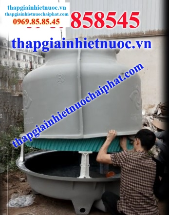 lap vo bon vao thap giai nhiet cooling tower
